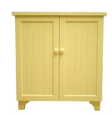 Beadboard Cookbook Cabinet