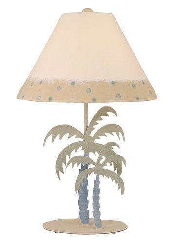 Iron Palm Tree Table Lamp