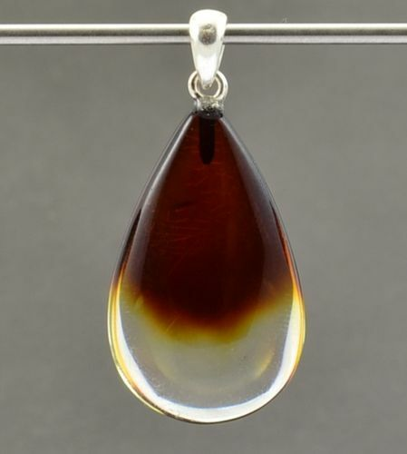 Amber Pendant Made of Amazing Baltic Amber