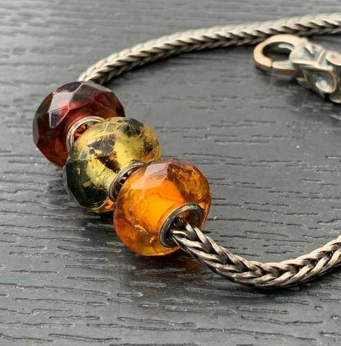 3 Pcs Wholesale Pandora Style Charm Beads - SOLD OUT
