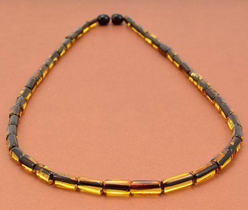 Men's Necklace Handmade of Amazing Baltic Amber