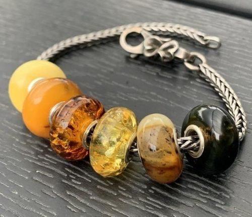 6 Pcs Wholesale Pandora style Charm Beads