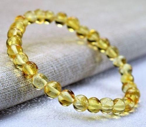 Amber Healing Bracelet Made of Precious Baltic Amber