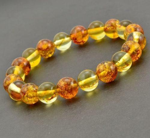 Amber Bracelet Made of Amazing Healing Baltic Amber