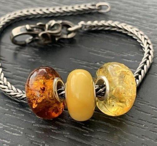 3 Pcs Wholesale Pandora style Charm Beads