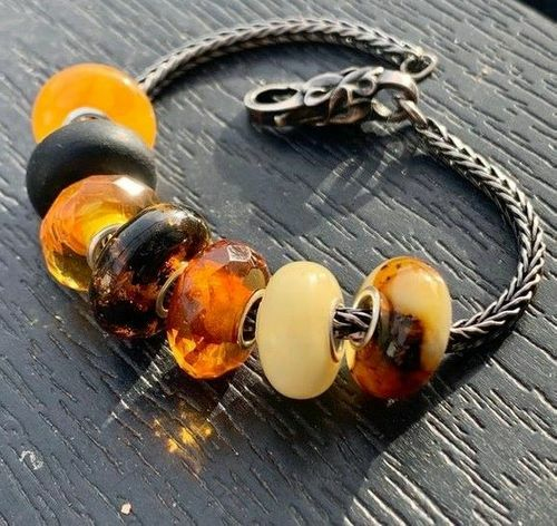 7 Pcs Wholesale Pandora Style Charm Beads
