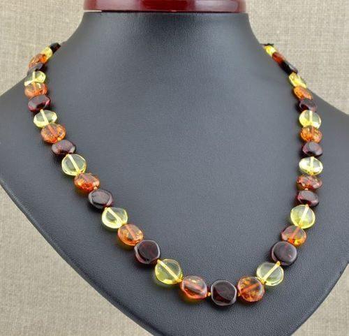 Amber Necklace Handmade of Amazing Healing Baltic Amber