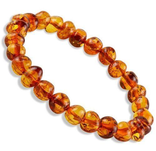 Amber Healing Bracelet Made of Cognac Baltic Amber