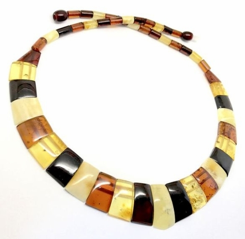 Cleopatra Amber Necklace Made of Precious Healing Baltic Amber
