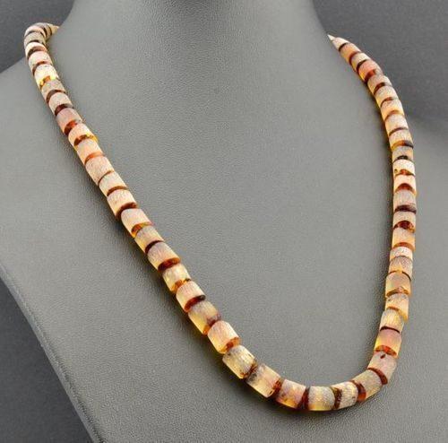 Men's Healing Necklace Made of Precious Baltic Amber