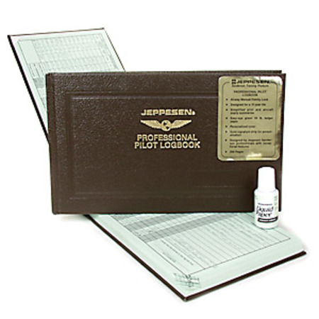 Professional Logbook by Jeppesen
