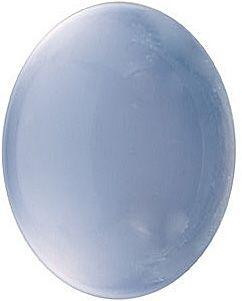 AQUA  BLUE CHALCEDONY 10X8 MM OVAL CUT CAB OUTSTANDING BLUE COLOR
