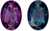 Highly Quality Gubelin Certified Alexandrite Genuine Gem, 6.69 x 4.72 x 3.06 mm, Rich Burgundy to Teal Blue Green, Oval Cut, 0.7 carats