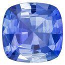 Genuine Blue Sapphire Gemstone, 1.02 carats, Cushion Cut, 6.2 mm, A Beauty of a Gem