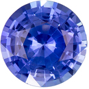 Loose Stunning 1.71 carats Blue Sapphire Round Genuine Gemstone, 7.3 mm