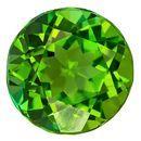 Authentic Green Tourmaline Gemstone, Round Cut, 1.94 carats, 7.8 mm , AfricaGems Certified - A Impressive Gem