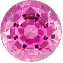 Exceptional Pink Tourmaline 8.51 carats, Round shape gemstone, 12.4  mm