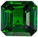 Hard to Find Tsavorite Natural Gem, 2.01 carats, Rich Grass Green, Emerald Cut, 6.9 x 6.7mm