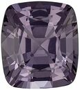 Very Desirable Gray Spinel Genuine Loose Gemstone in Cushion Cut, 2.04 carats, Vivid Medium Gray, 8 x 7 mm