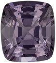 Very Desirable Gray Spinel Genuine Loose Gemstone in Cushion Cut, 2.04 carats, Vivid Medium Gray, 8 x 7 mm