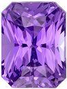 Pure Purple Color Sapphire in Fiery Radiant Cut, 2.07 carat GIA No Heat