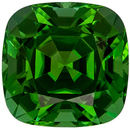 Beautiful 2.1 carats Green Tourmaline Cushion Genuine Gemstone, 7.5 x 7.4 mm