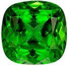 So Pretty 2.16 carats Chrome Tourmaline Cushion Genuine Gemstone, 7.6 mm