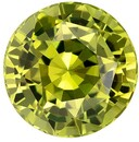 Heirloom Chrysoberyl Gemstone, 2.35 carats, Round Cut, 7.8 mm, A Beauty of a Gem