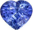 Wonderful Sapphire Genuine Gem, 2.47 carats, Rich Cornflower Blue, Heart Cut, 8.1 x 7.7mm