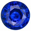 Loose Blue Sapphire Gemstone, 2.49 carats, Round Cut, 7.7 mm, A Beauty of a Gem