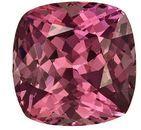 Genuine Mahenge Malaya Garnet Gemstone 3.06 carats, Cushion Cut, 8.0 mm