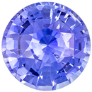 Classic 3.28 carats Blue Sapphire Round Genuine Gemstone, 8.7 mm