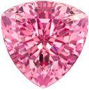 Spectacular Pink Tourmaline 7.24 carats, Trillion shape gemstone, 12.3  mm
