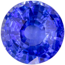 Wonderful Rare GIA Certified Sapphire Loose Gem, 12.12 x 11.96 x 7.25 mm, Cornflower Blue, Round Cut, 8.12 carats