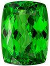Beautiful Green Tsavorite Garnet 3.03 carats, Cushion shape gemstone, 9.4 x 6.9  mm