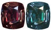 Rare Size Alexandrite GIA Certified 11.39 Carat, Bluish Green to Reddish Purple Color Change, 14.1 x 12.3 mm