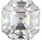 Asscher Cut Genuine Diamonds - G Color VS Clarity