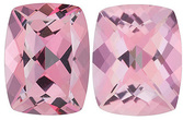 BABY PINK PASSION TOPAZ Antique Cushion Cut Gems  - Calibrated