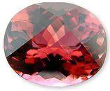Beautiful Custom Cut Salmon Pink Tourmaline Gemstone 17.95 carats