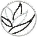 Black Spinel Pendant in Sterling Silver Black Spinel & 0.25 Carat Diamond Pendant