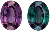 Rare Quality Gubelin Cert Alexandrite Gemstone in Oval Cut, 1.32 carats, Teal Blue Green to Rich Magenta, 8.3 x 6.11 x 3.29 mm