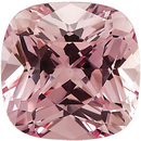 Chatham Lab Pink Champagne Sapphire Antique Square Cut in Grade GEM