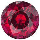 Chatham Lab Lab Ruby Round Cut in Grade GEM