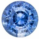 Deal on Blue Sapphire Round Shaped Gemstone, 1.12 carats, 5.9mm - Truly Stunning