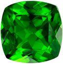 Deal on Genuine Chrome Tourmaline Gem in Cushion Cut, 7.2 x 7.1 mm in Gorgeous Rich Grass Green, 1.72 carats