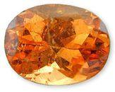 Elegant Vibrant Orange Tangerine Garnet Gemstone for SALE, Oval Cut, 1.66 carats