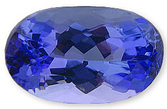 Excellent Color Elongated Oval Tanzanite Gemstone 1.90 carats