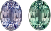 Excellent Genuine Loose Alexandrite Gemstone in Oval Cut, 0.6 carats, Light Teal to Eggplant, 5.9 x 4.3 mm