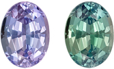 Very Low Price on GIA Certified Genuine Loose Alexandrite Gemstone in Oval Cut, 0.51 carats, Vivid Teal to Medium Eggplant, 5.45 x 3.99 x 3.03 mm