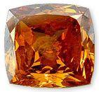 Fancy Deep Orangy Brownish Yellow 0.56 carats